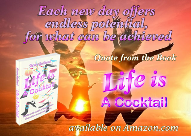Life Is A Cocktail Quote (Paperback)